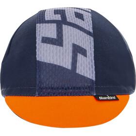 Santini Color Cycling Cap, nautica blue